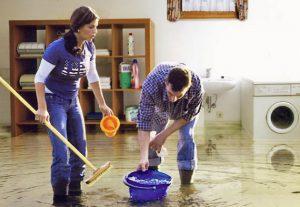 Wasserschaden im Haus - Wir helfen Ihnen bei Wasserschaden